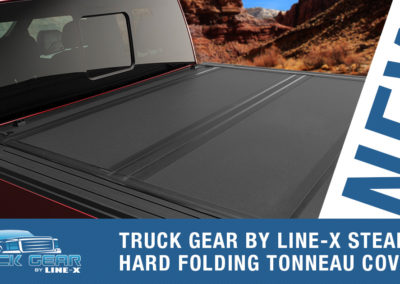 STEALTH HARD FOLDING TONNEAU COVER