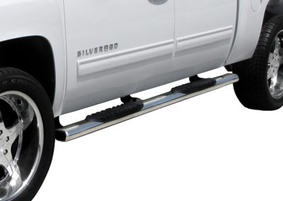 "4"" OVAL STEP BAR TRUCK GEAR BY LINE-X"