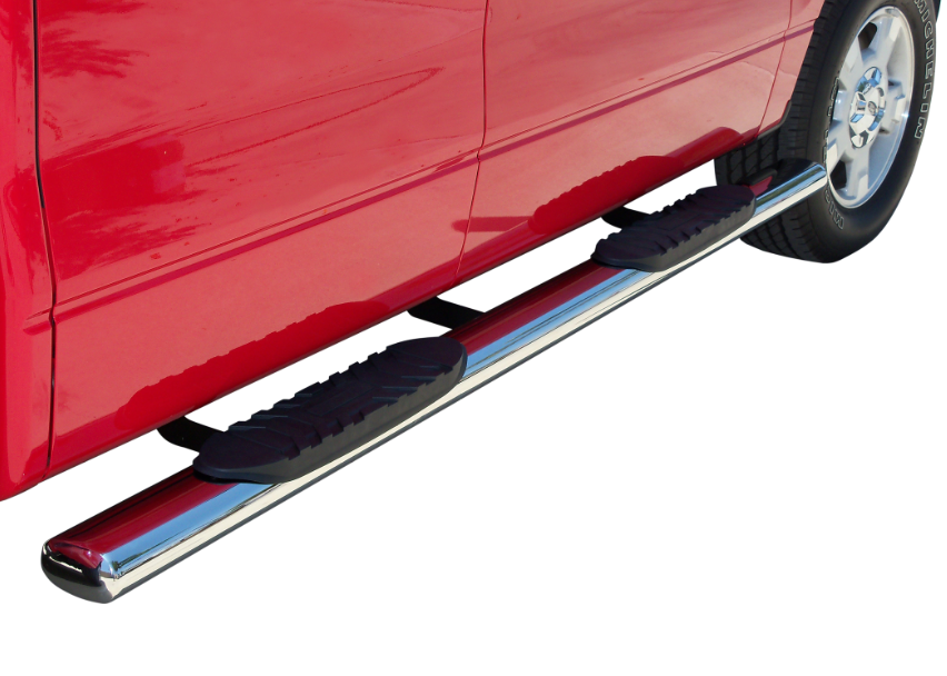 5″ OVAL STEP BAR TRUCK GEAR BY LINE-X